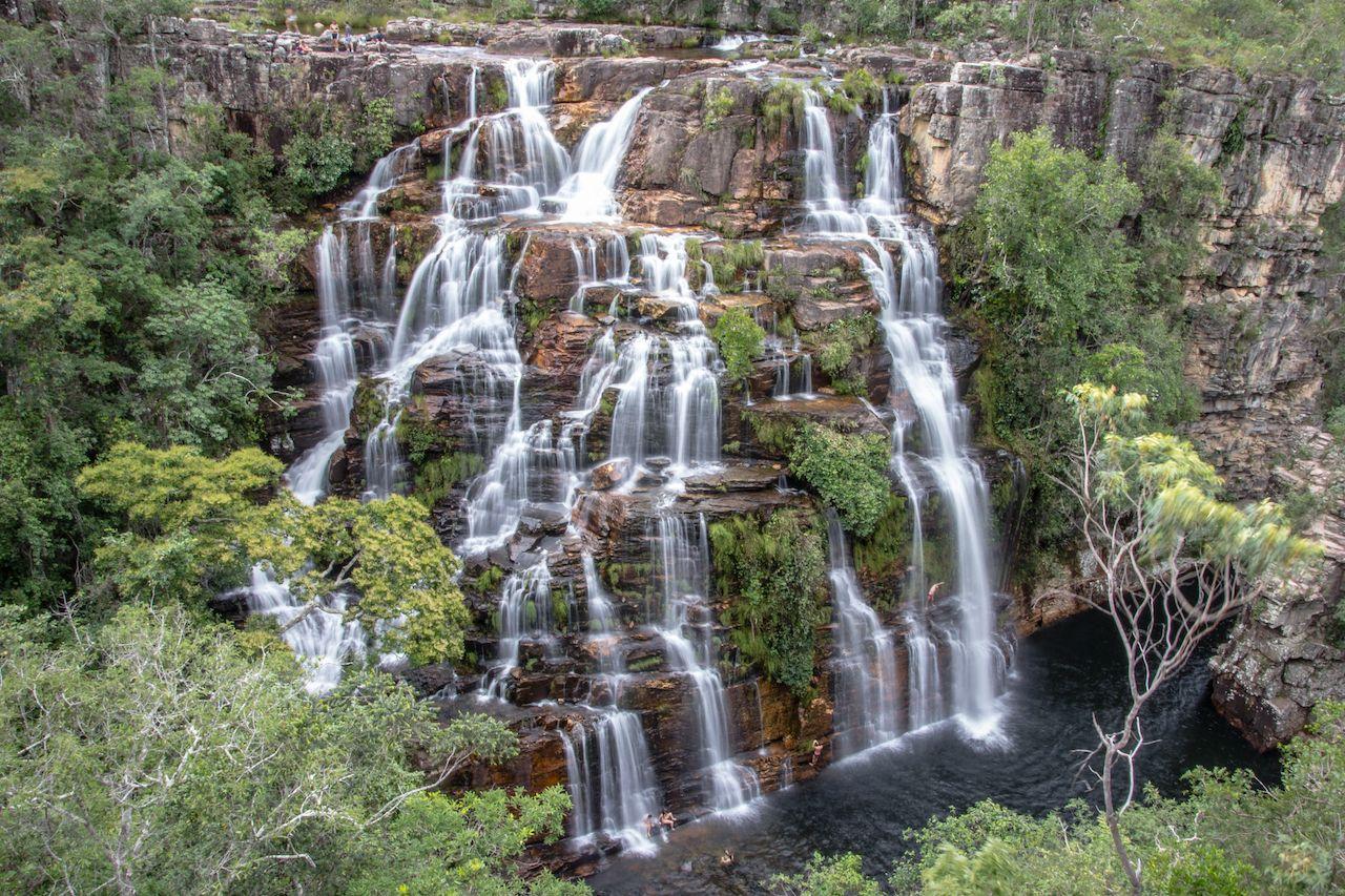 "Brazilian,Waterfall,At,Chapada,Dos,Veadeiros,,Alm""©cegas, Chapada dos Veadeiros"
