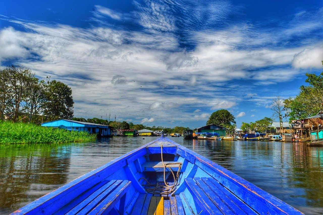 Leticia,Colombia,  Colombian Amazon Rainforest
