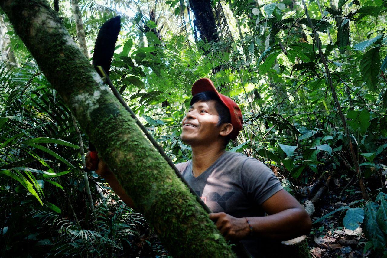Macedonia,,Amazonia,/,Colombia,-,Mar,15,2016:,Local,Ticuna, Colombian Amazon Rainforest
