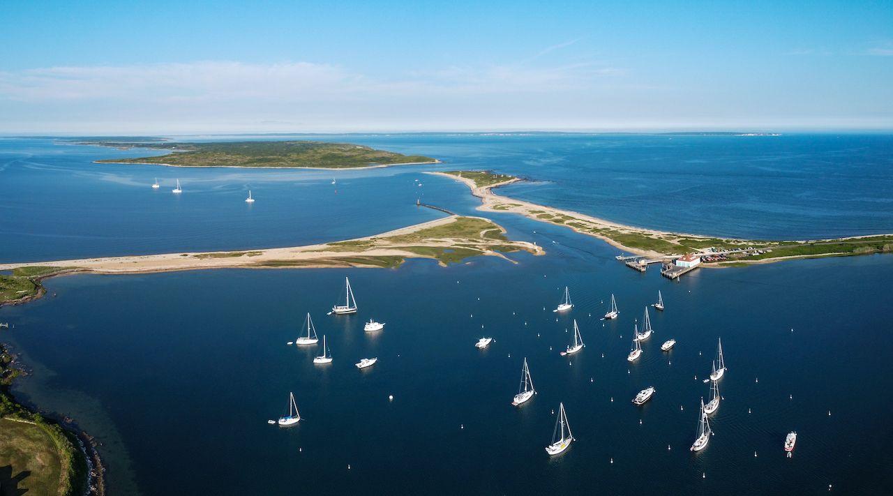 Cuttyhunk,Harbor,,Looking,Toward,Martha's,Vineyard, Martha's Vineyard