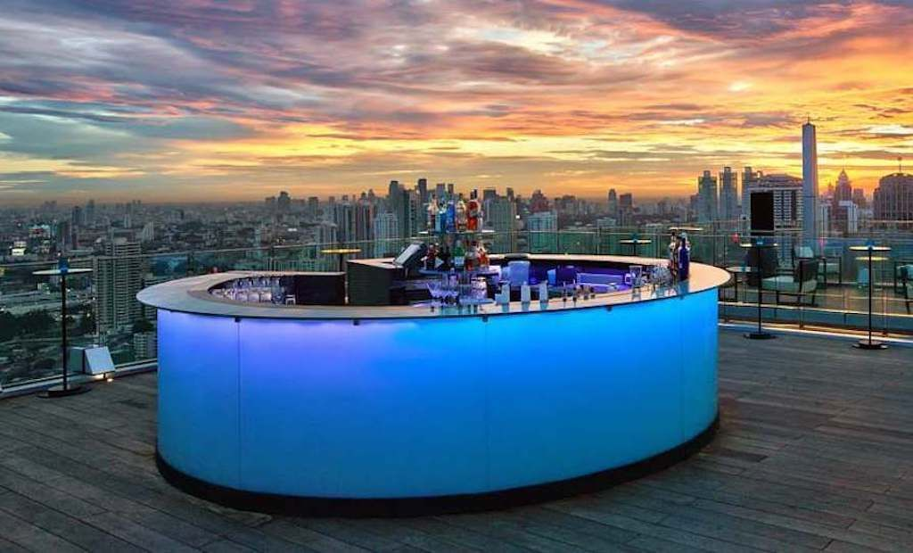 Octave Rooftop Lounge & Bar, day three in Bangkok