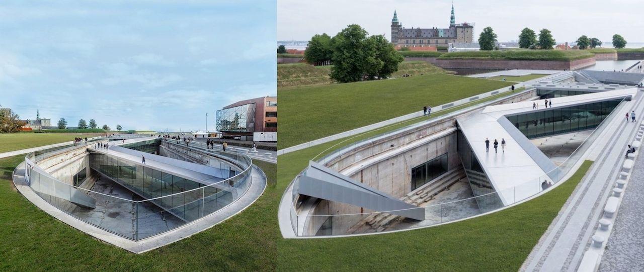 M/S Maritime Museum of Denmark Helsingor, Denmark architecture