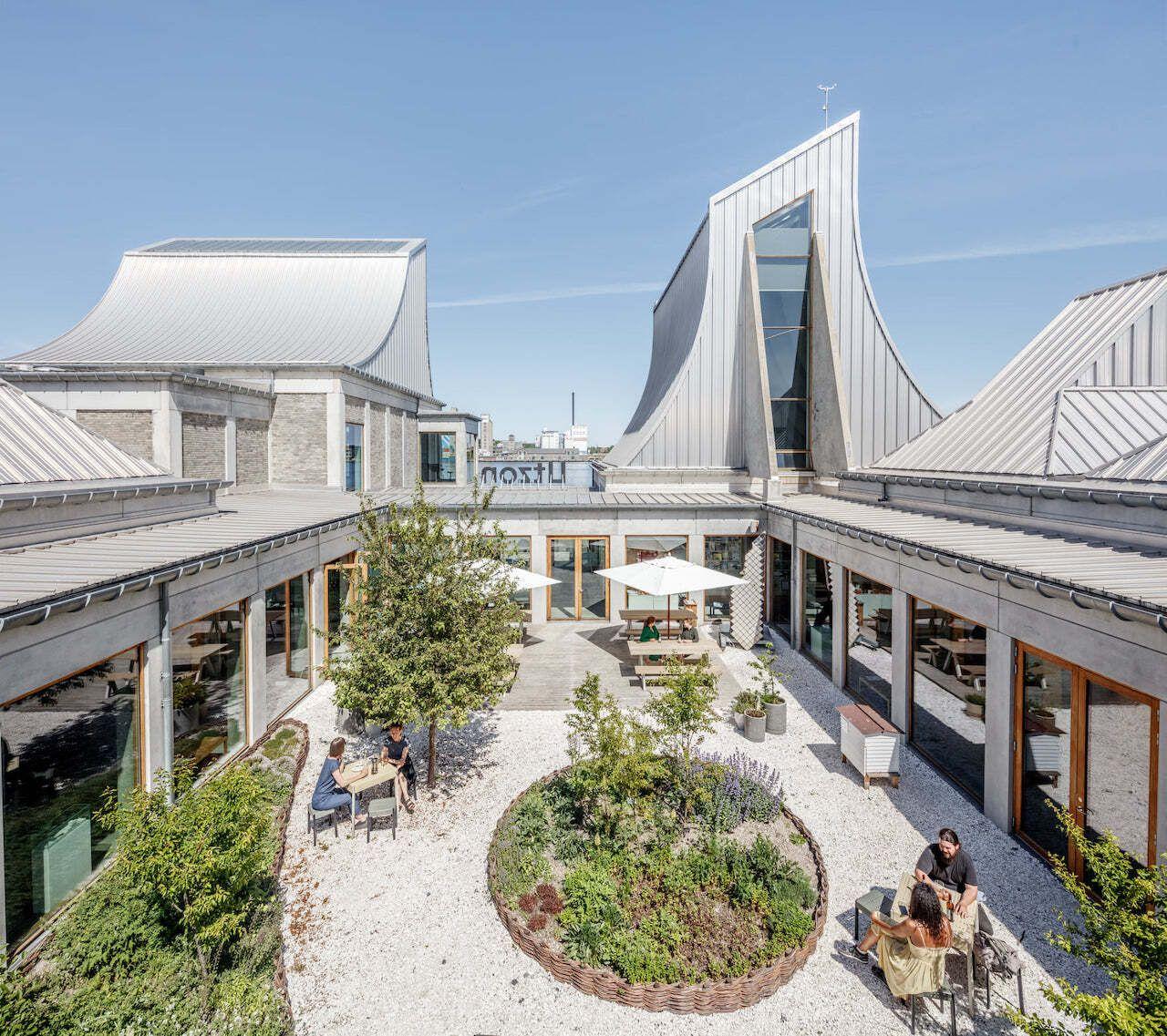 Utzon Center, Denmark architecture