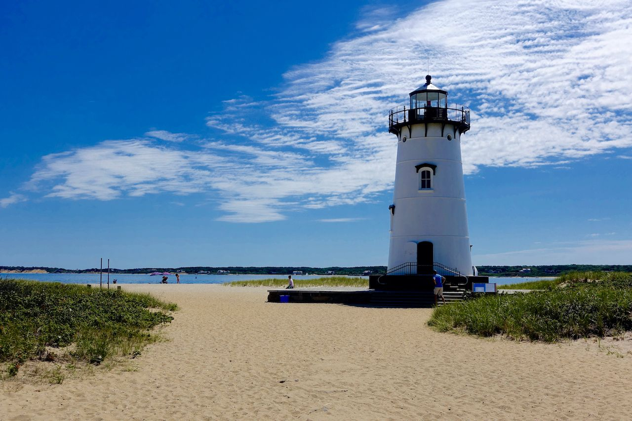Lighthouse,In,Martha'Äôs,Vineyard, Martha's Vineyard