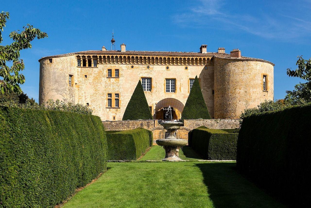 French-castle-Chateau-de-Bagnols