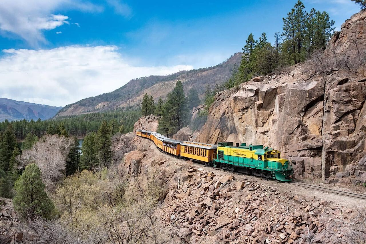 Colorado-rail-experience , US train trips