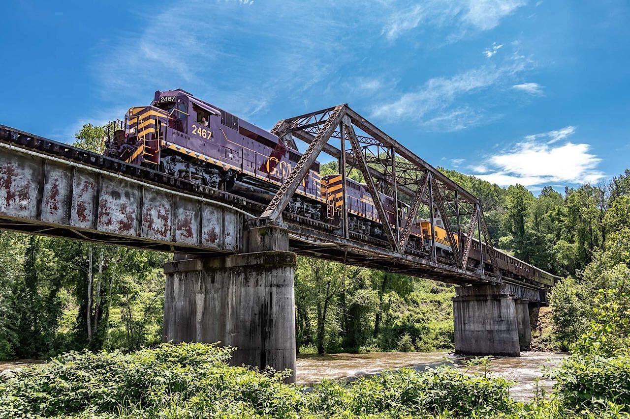 great-smoky-mountain-rail , US train trips