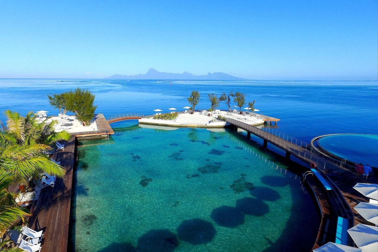 Islands-in-Frech-Polynesia-Tahiti-Island, Islands in French Polynesia
