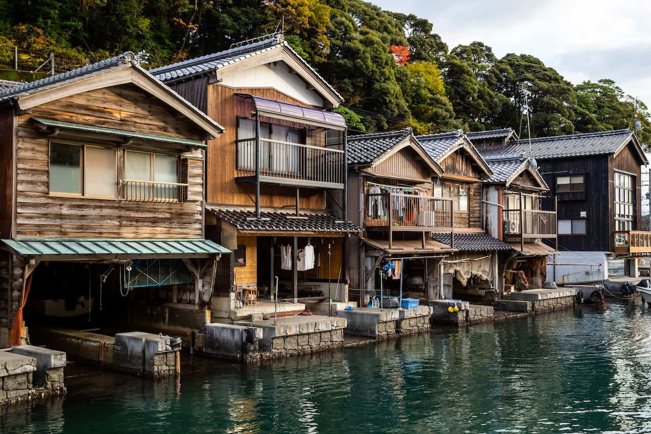 Ine,Town,Located,In,Yosa,District,,Kyoto,Prefecture,,Japan.,Old, Kansai