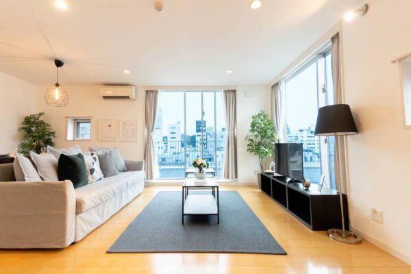 Modern-Flat-Harajuku-Airbnb-accommodation-in-Tokyo
