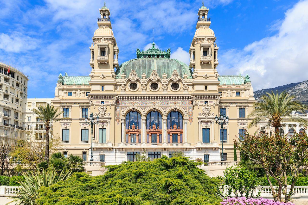 Salle,Garnier,The,Opera,House,Of,Monte-carlo, Monaco on a budget