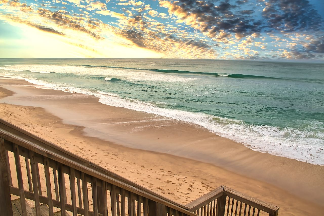 Beautiful,Spring,Day,At,The,Beach,In,Melbourne,Beach,Florida, US Olympic surf team