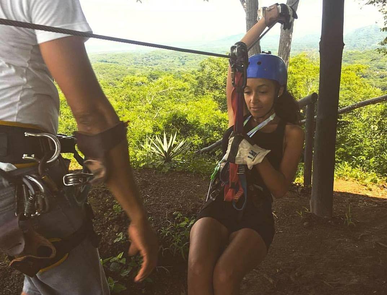 beach-town-for-solo-travelers-Tamarindo-Costa-Rica-Ziplining,  beach town for solo travelers