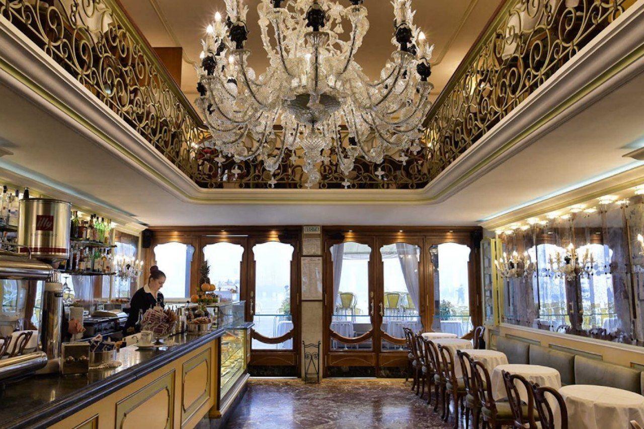 Cafe in Venice Caffee Lavena