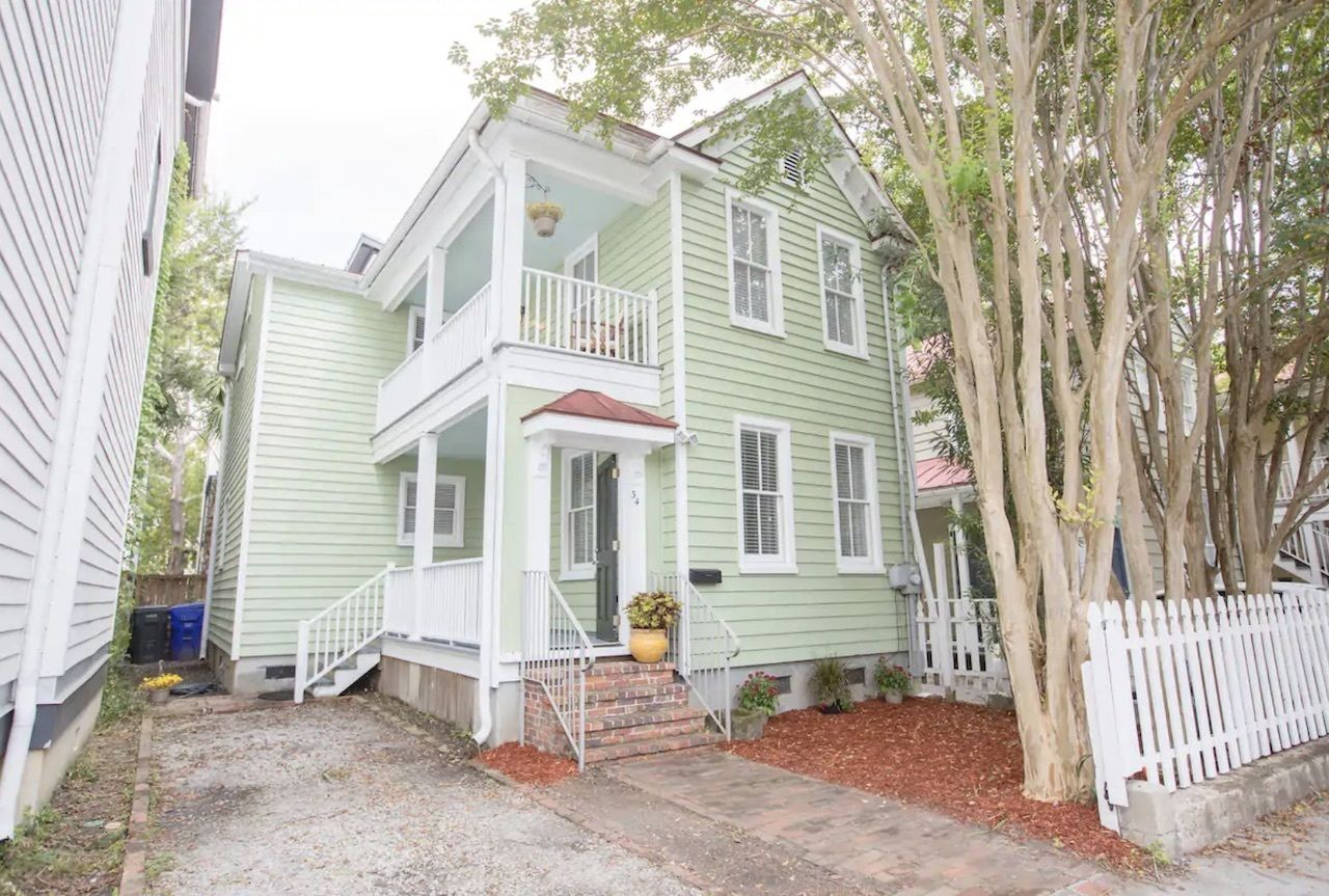 Cozy Cannonborough house for five, charleston Airbnbs