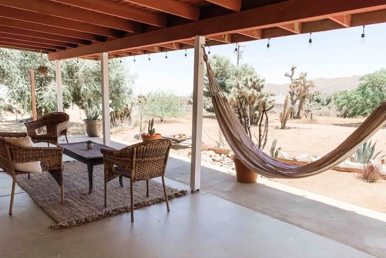 ranch-style home in Yucca Valley, Joshua tree airbnbs