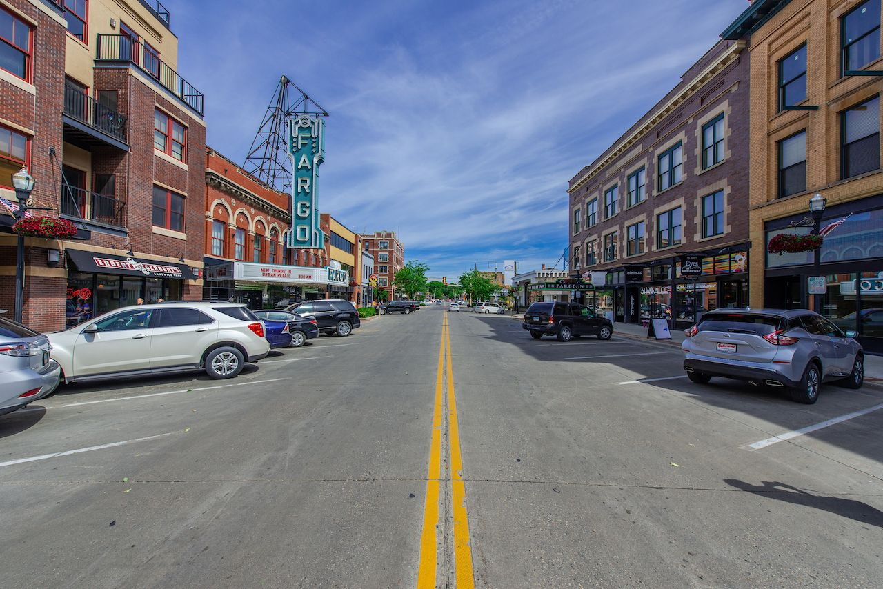 Fargo,,North,Dakota,/,Usa,-,June,27,2017:,Theater, Fargo north dakota