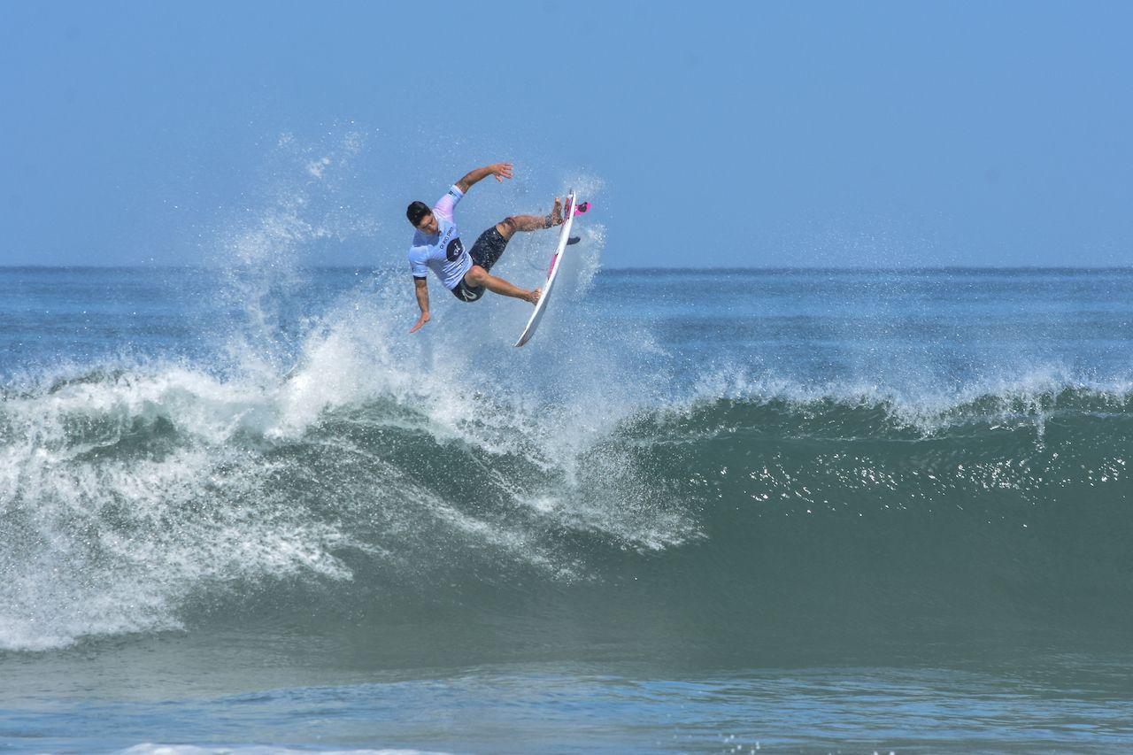 Saquarema, Rio de Janeiro, Brazil - May 6, 2018: The Two times World Champion Gabriel Medina, brazilian pro surfer, at the World Surf League stop at Saquerema - Rio de Janeiro, Brazil, new sports at the Tokyo Olympics