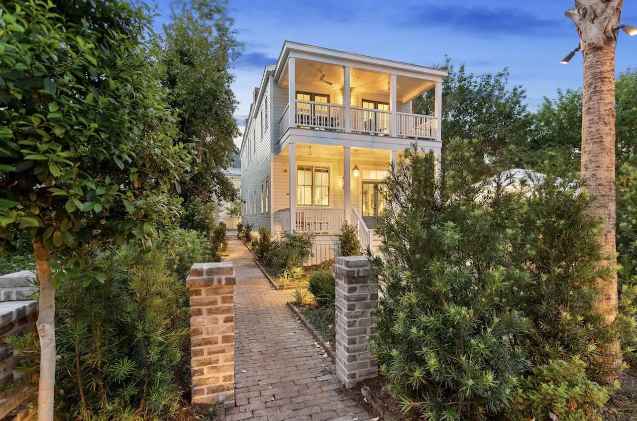 Historic downtown house with pool, charleston airbnbs