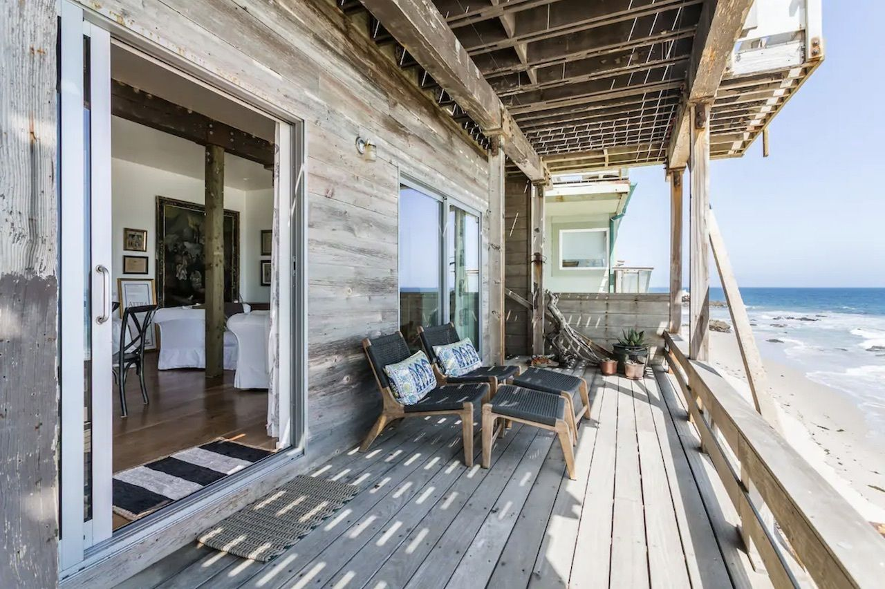 idyllic-malibu-oceanfront-airbnbs-in-california, Oceanfront Airbnbs in California