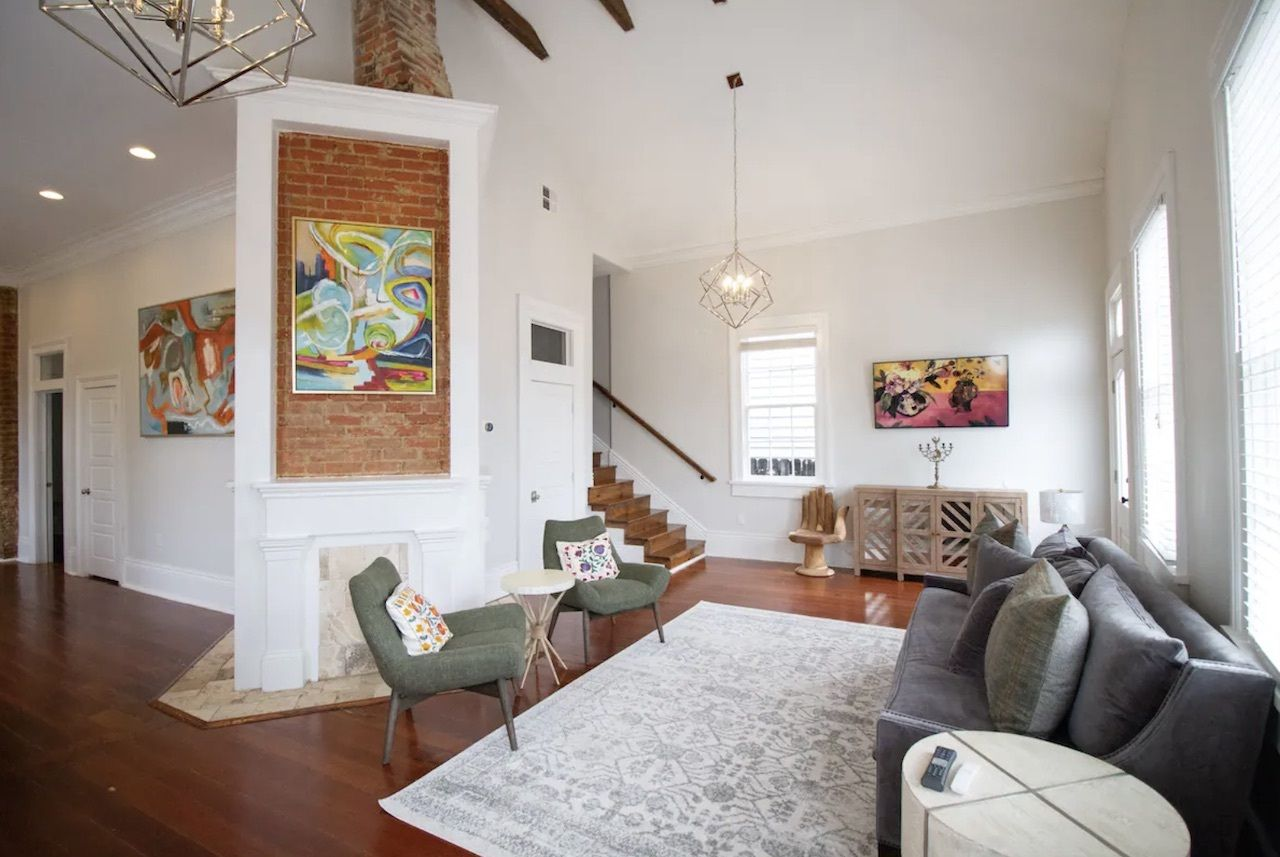 Large Irish Channel home for eight guests, New Orleans Airbnbs