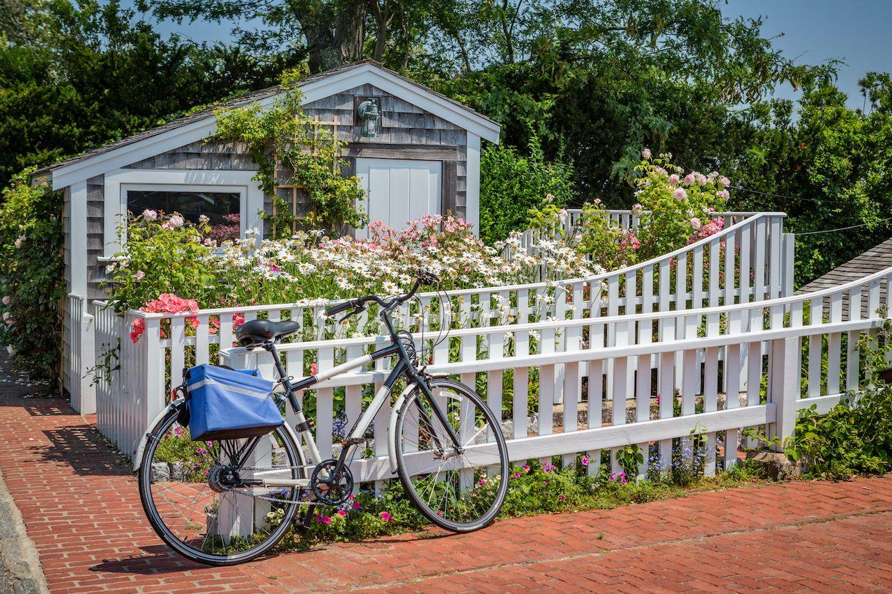 Boat,House,And,Bicycle,In,Martha's,Vineyard, Martha's Vineyard