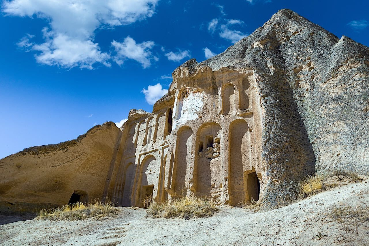 The,Paths,Inside,Selime,Cathedral.,Selime,Monastery,In,Cappadocia,,Turkey,  Cappadocia