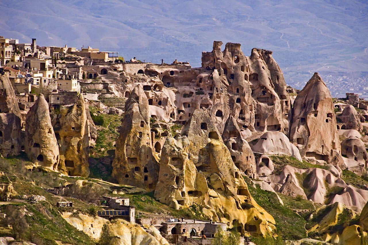 Uchisar,Village,,Cappadocia,,Turkey,  Cappadocia