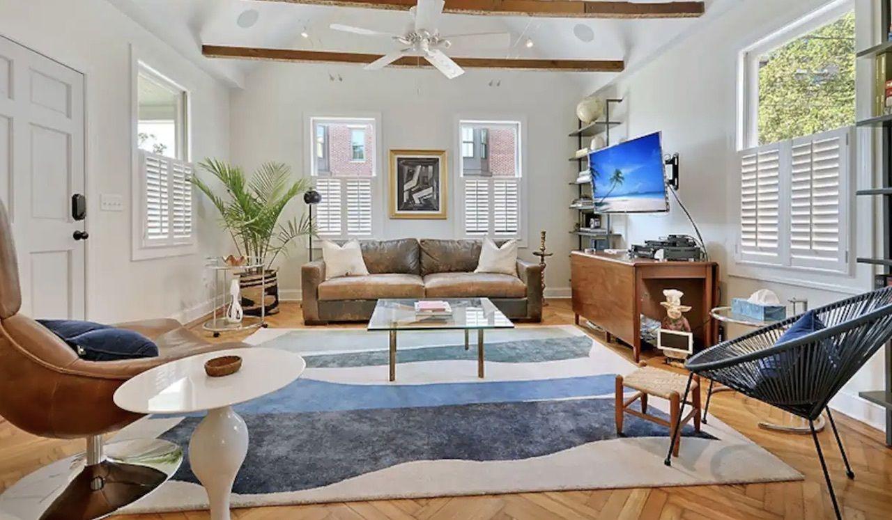 Upper King Street apartment, charleston airbnbs