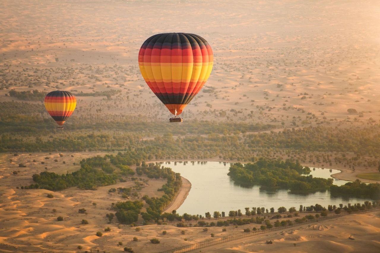 week-in-Dubai-hot-air-balloon,  week in Dubai