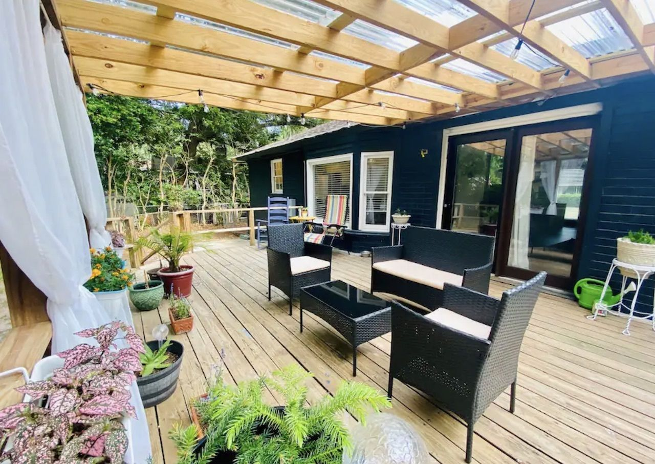 Boho bungalow in West Ashley, charleston airbnbs