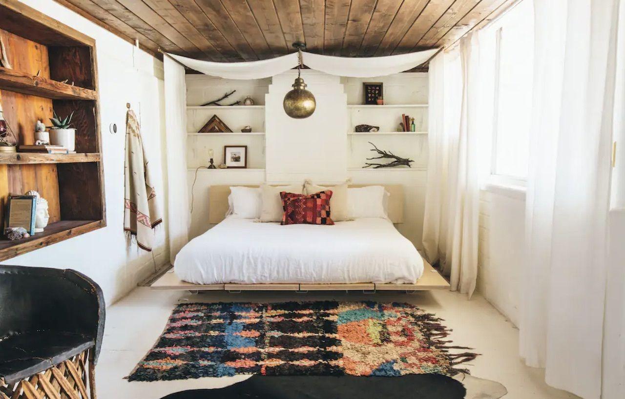 reimagined 1940s hacienda, Joshua Tree airbnbs