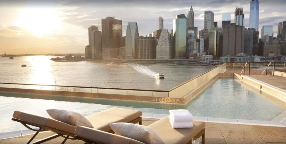 1 hotel brooklyn bridge nyc hotels with skyline views