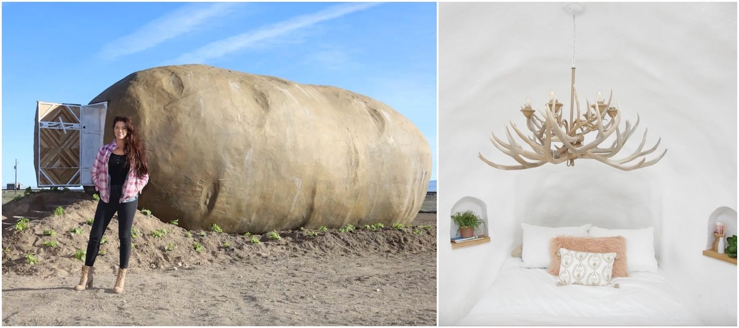 Collage-big-idaho-potato-hotel-most-wishlisted-airbnbs-in-the-pacific-northwest