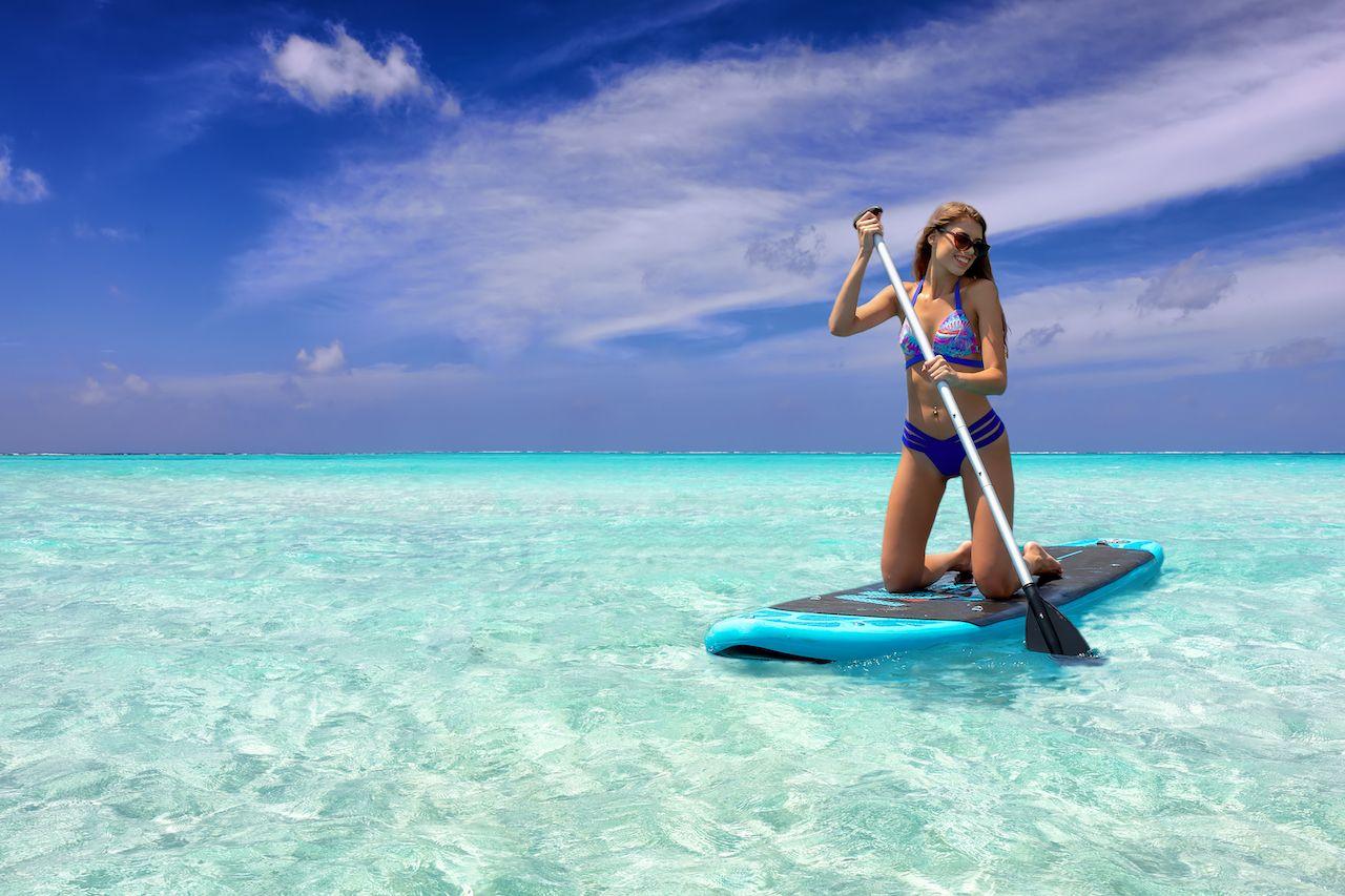 Grand Cayman paddle board 1283893495