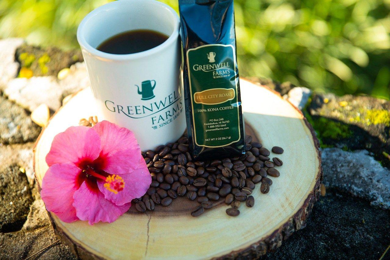 Greenwell coffee farm Hawaii