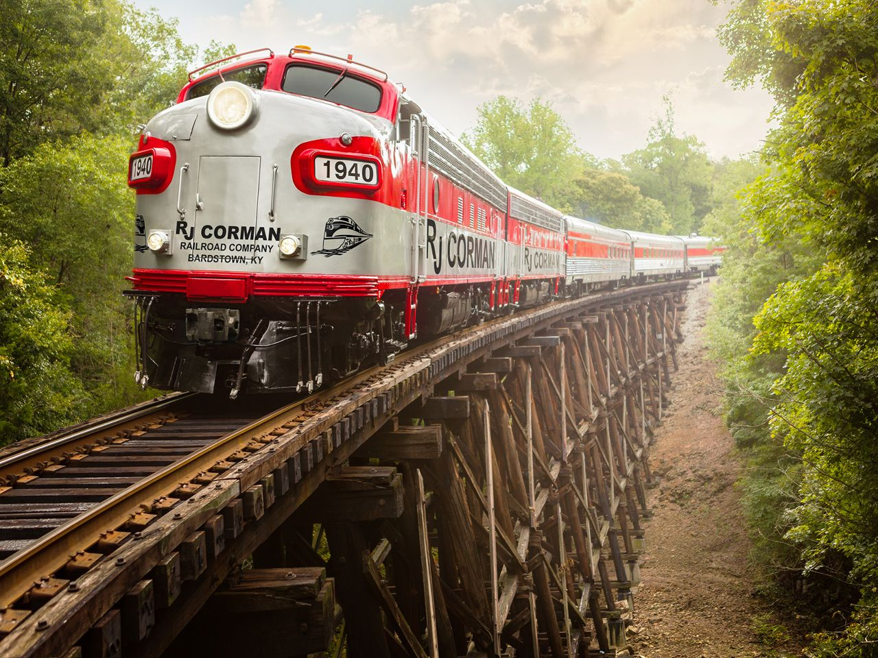 This bourbon train is the ultimate whiskey drinking experience in the US