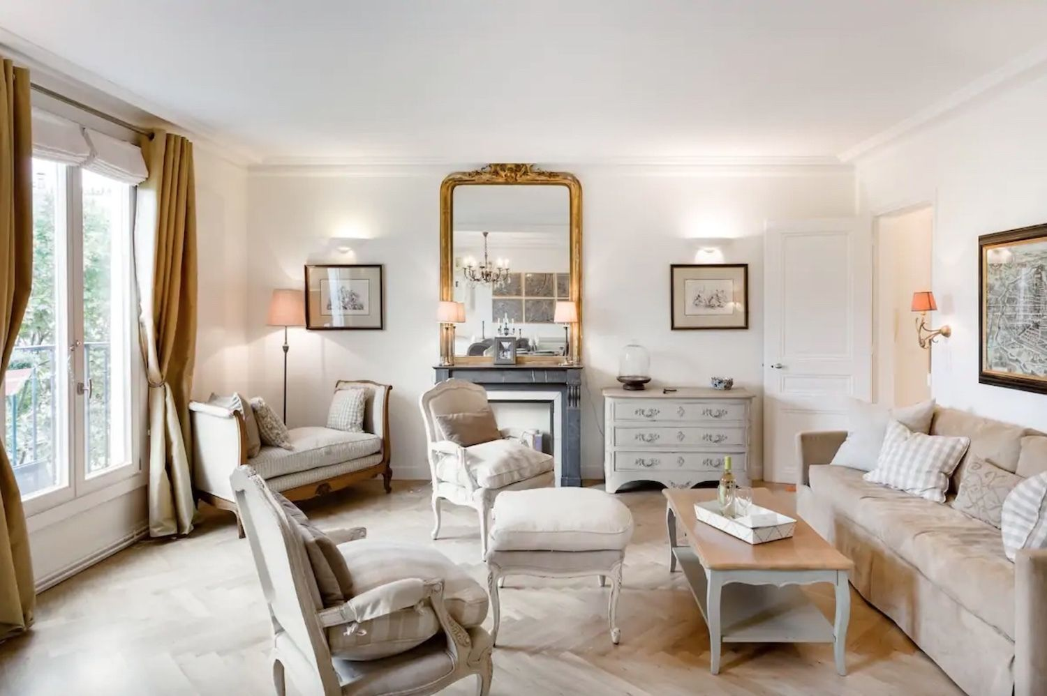 Superb apartment with full view of the Eiffel Tower -- Paris' 7th arrondissement , paris airbnbs