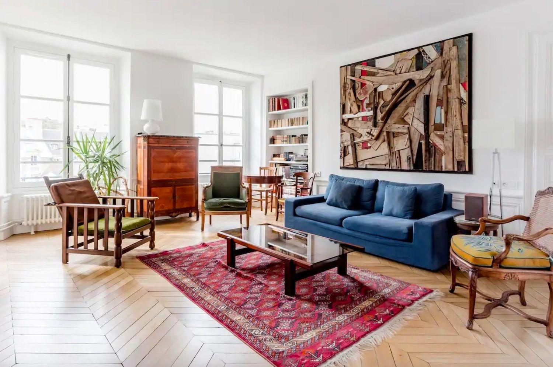 Elegant apartment with a stunning outdoor patio -- Paris' 6th arrondissement, paris airbnbs