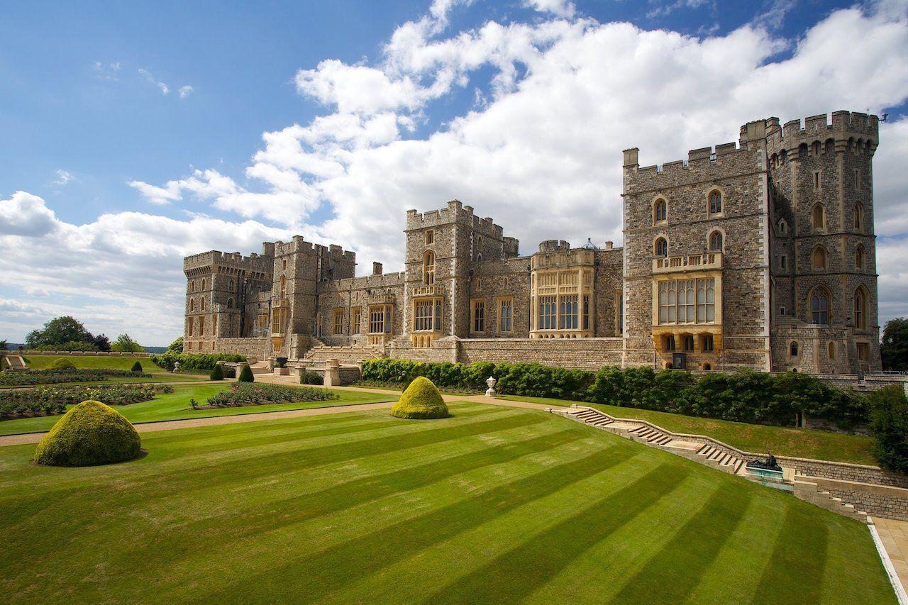 Windsor castle near London, United Kingdom, royal family
