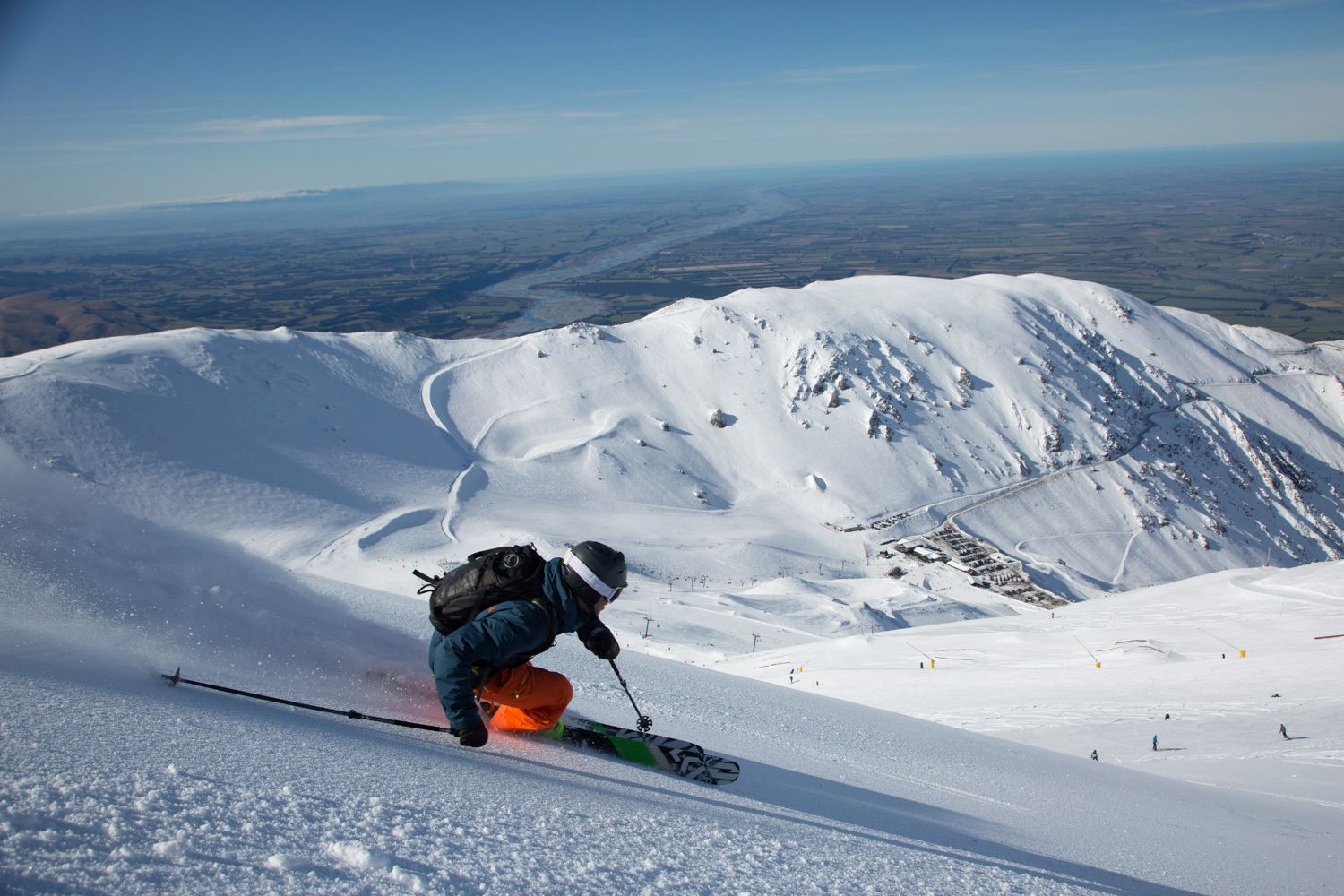 Surf-and-ski-on-the-same-day-New Zealand-Mount-Hutt