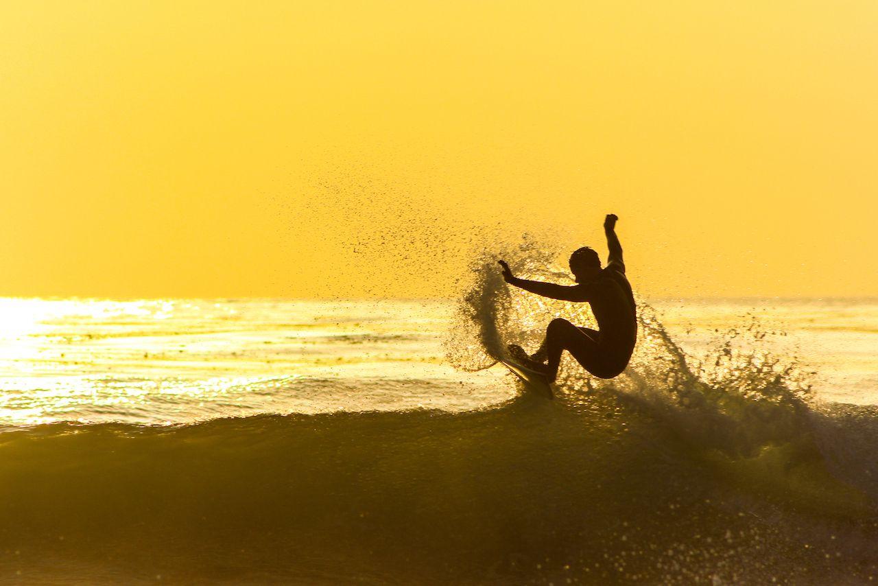 """cali,Surfin"", Surf and ski on the same day"