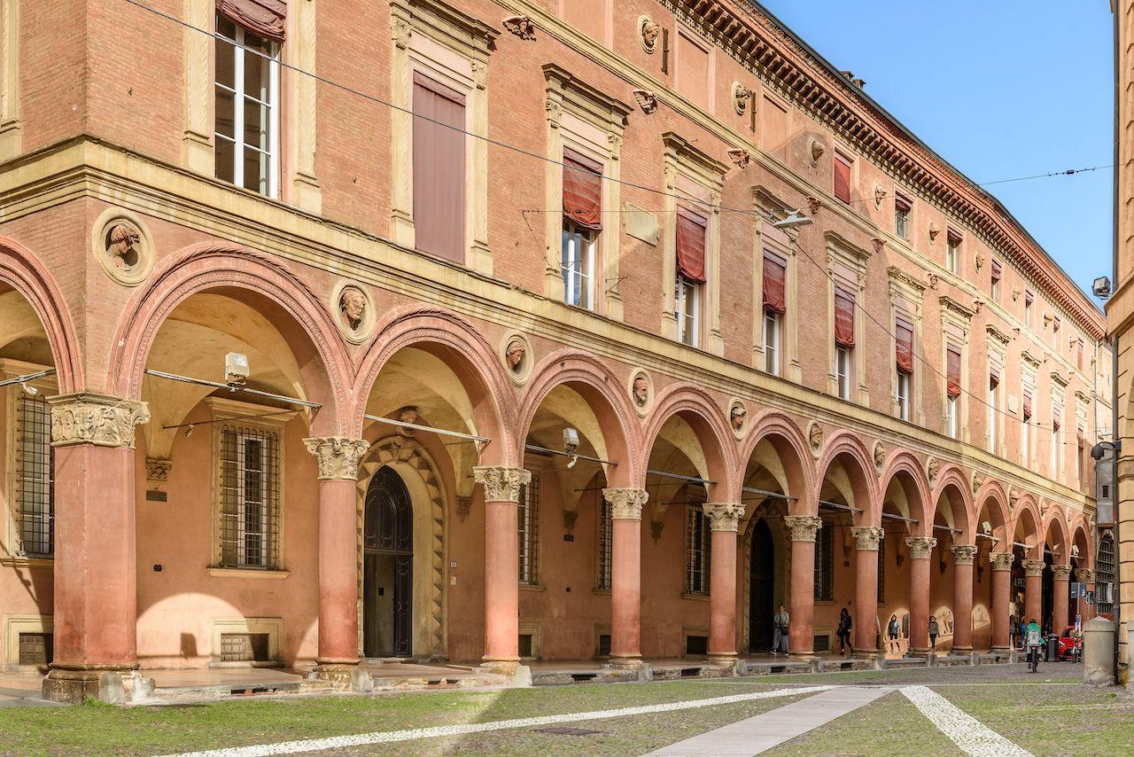 The Porticoes of Bologna, Italy