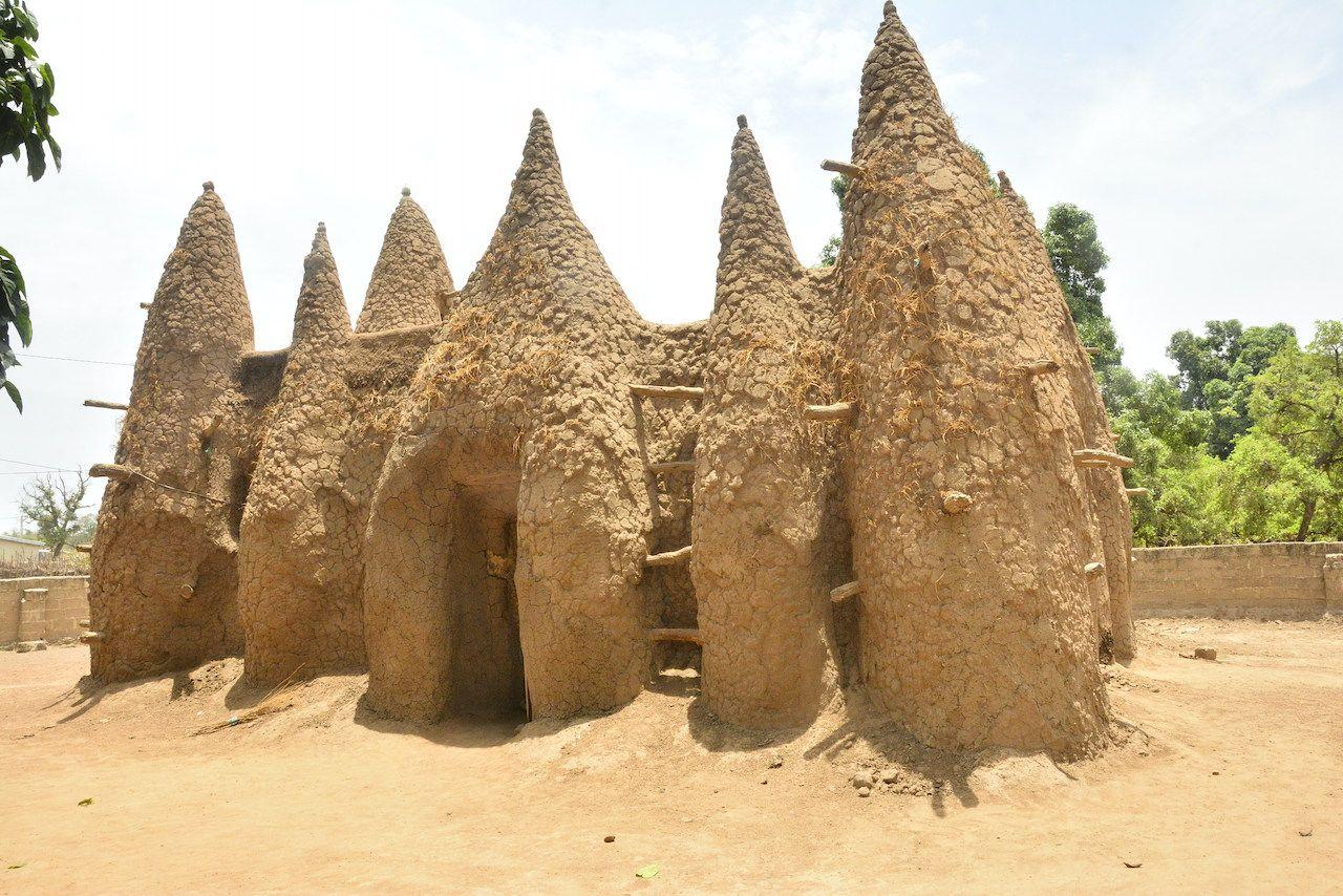 Sudanese style mosques, Ivory Coast