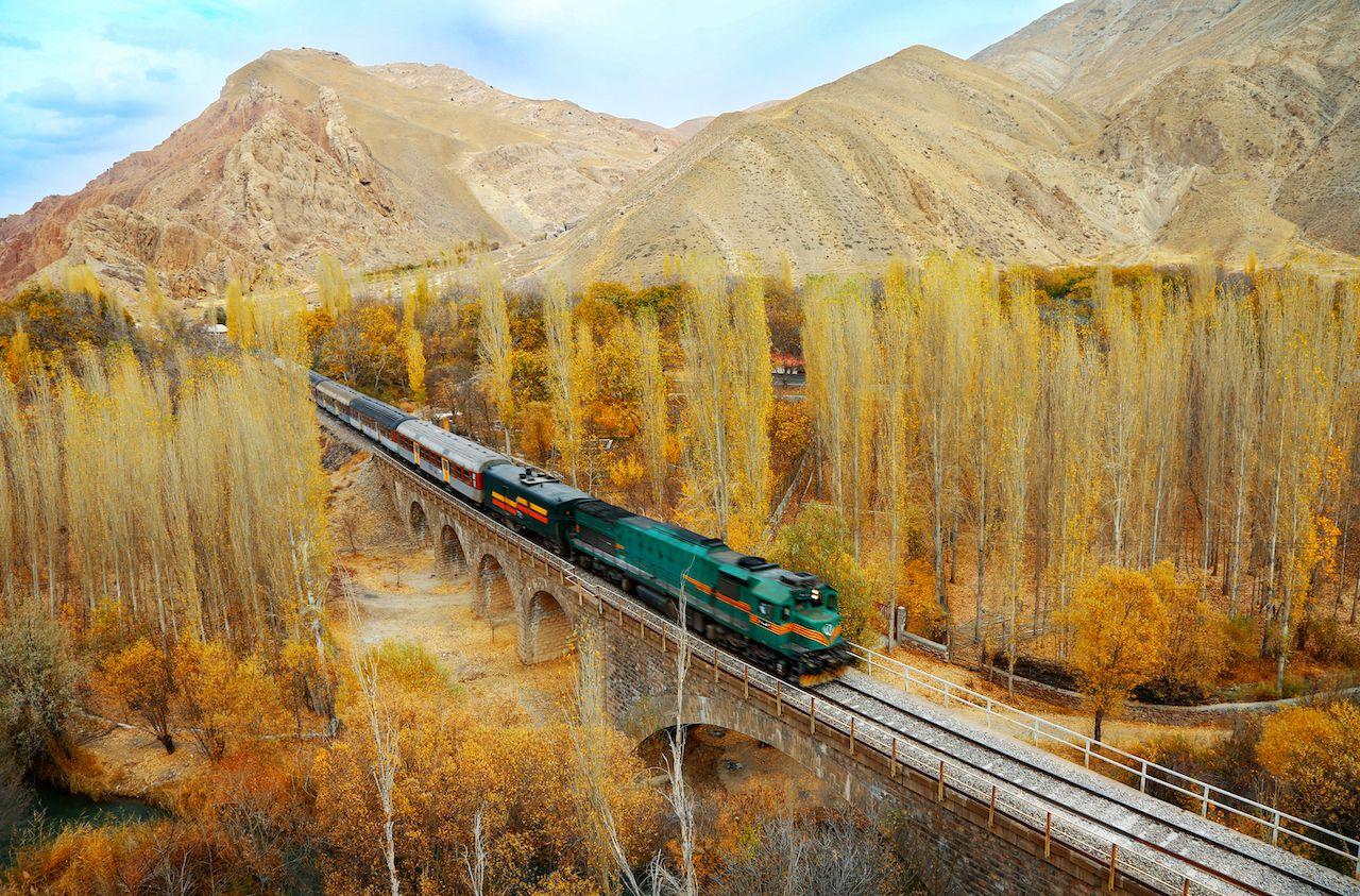 Trans-Iranian Railway, Iran