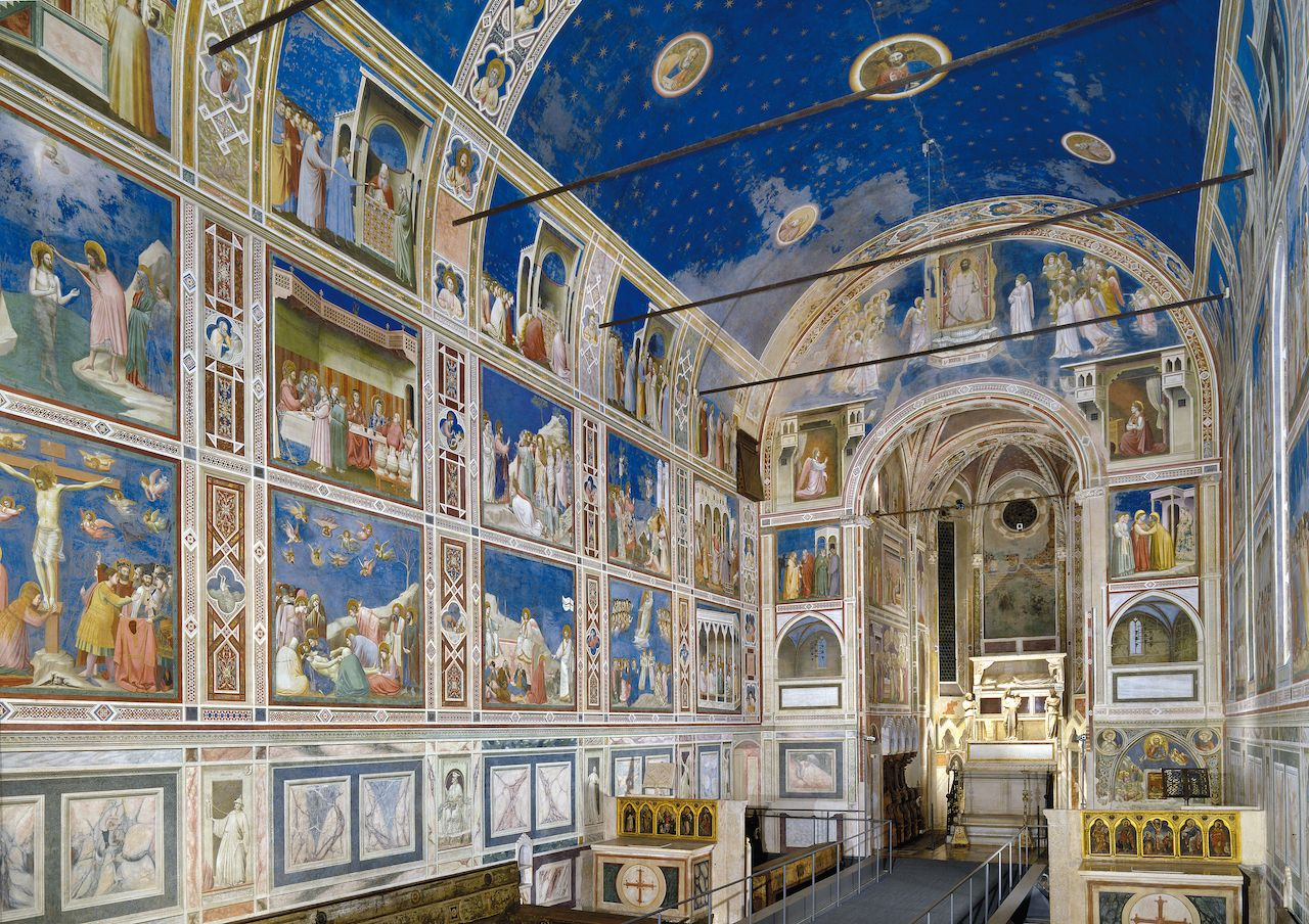 Padua's fourteenth-century fresco cycles
