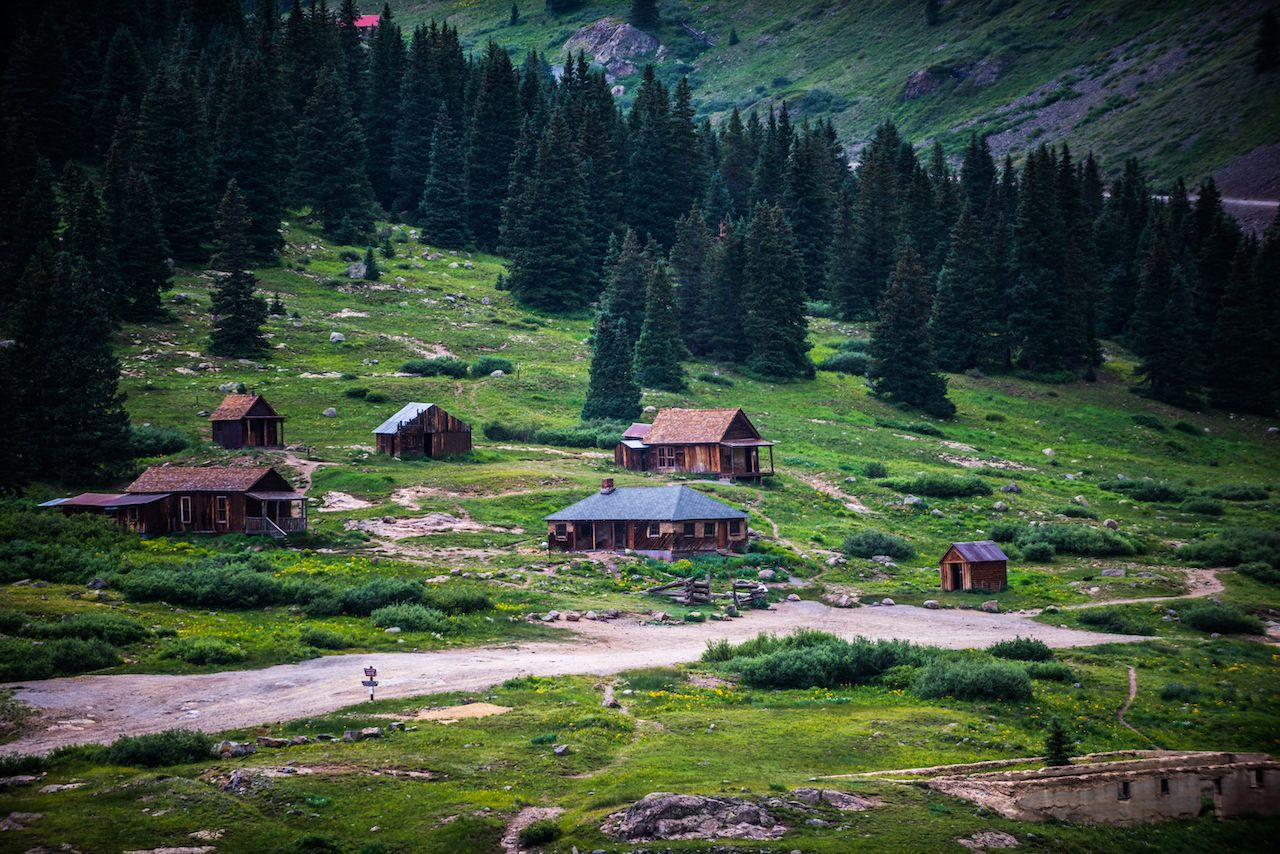 Animas,Forks,Ghost,Town,Alpine,Loop,Near,Silverton,Colorado