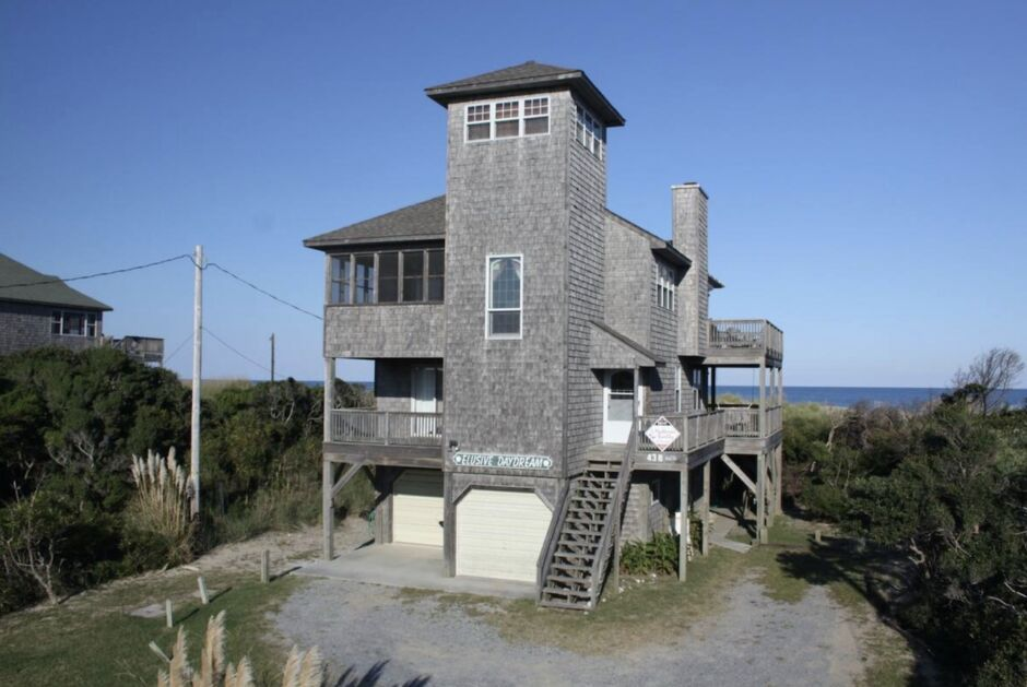 bachelor party outer banks airbnbs