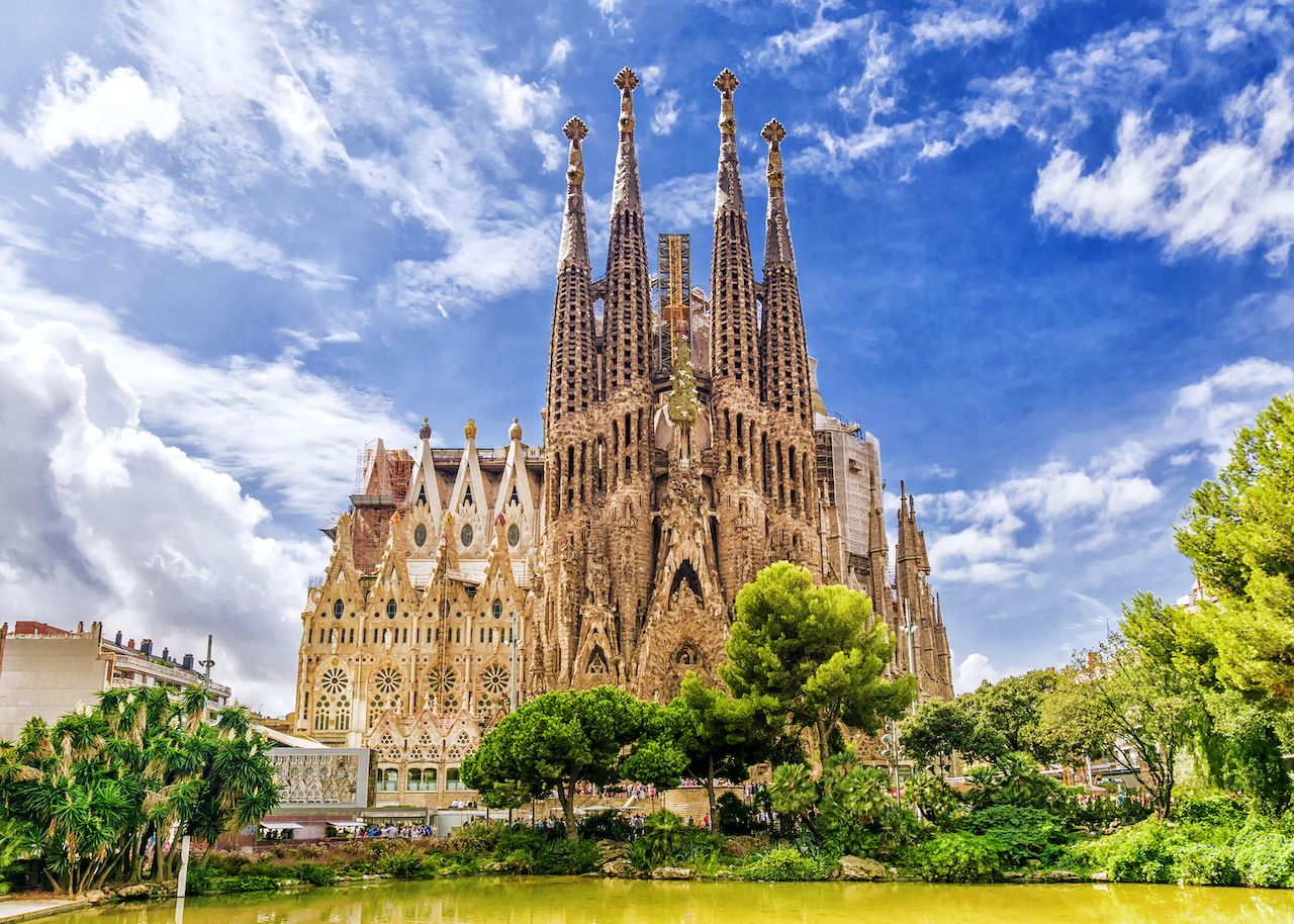 This company wants to fly you to Barcelona for free for a concert at the Sagrada Família