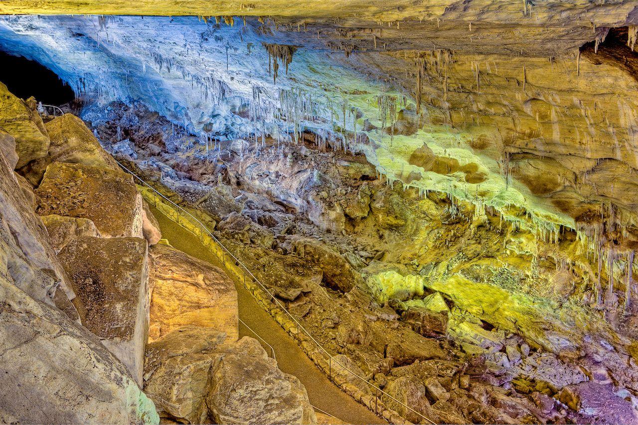 Bat,Cave,And,Flight,Path,,Carlsbad,Caverns,,New,Mexico